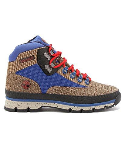 Timberland - Euro Hiker Mid Jacquard - Boots Man beige/bleu