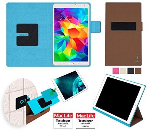 amsung Galaxy Tab S 8.4 Tasche Cover Case Bumper   in Braun   Testsieger ()