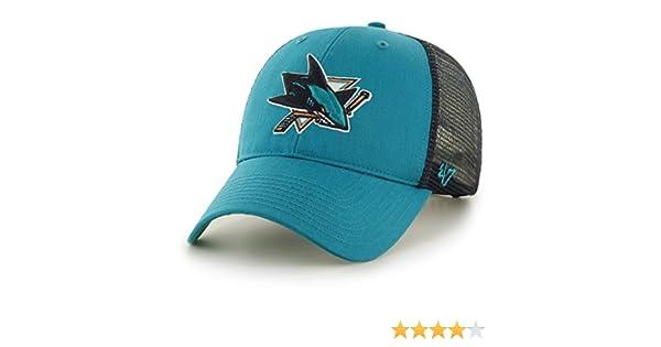 6bae2a7a794643 '47 Brand San Jose Sharks Branson NHL Trucker Cap: Amazon.co.uk: Clothing