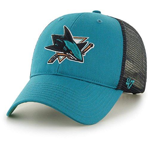 NHL Detroit Red Wings Camo Branson 47 Brand Trucker Cap Kappe Hockey Herren Fanartikel