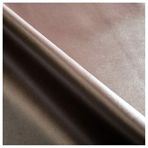 Emmevi ecopelle finta pelle tessuto marrone scuro rivestimento sella divano poltrona sedia cuscino tovaglia proteggi tavolo 100% made in italy mod.skay 140x100 testa di moro