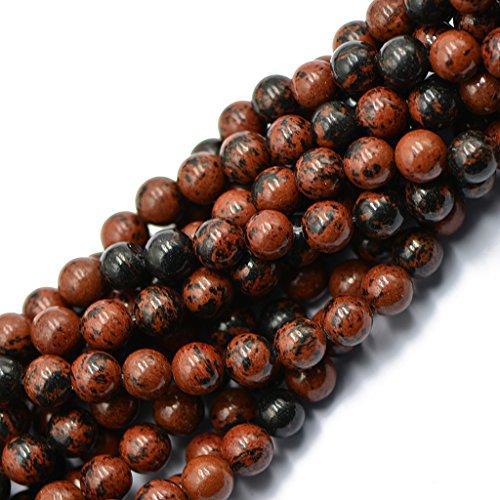 acajou-rouge-naturel-8mm-perles-en-vrac-obsidienne-15-pouces-round