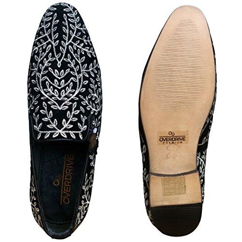 OverDrive Premium Black Partywear Shoe (7)