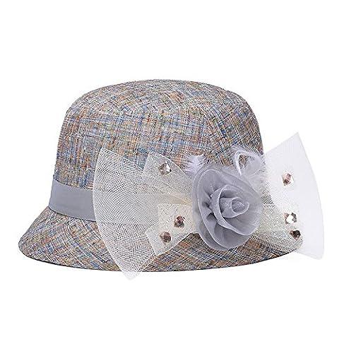 ZHANGYONG*Marée élégant parasol sauvage, chapeaux d