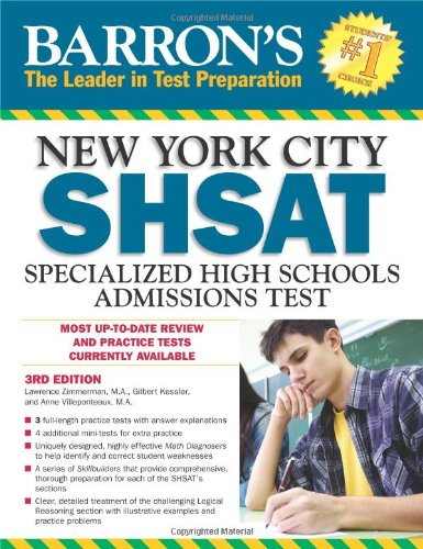 Barron's New York City SHSAT: Specialized High Schools Admissions Test (Barron's SHSAT)