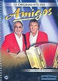 12 Original-Hits der Amigos (+CD): für Steirische Handharmonika in Griffschrift