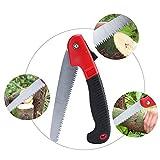 Sierra de mano sierra, profesional sierra de podar plegable resistente a la corrosión con resistente 7'Bladesfor Árbol de jardín, Camping, recorte, caza