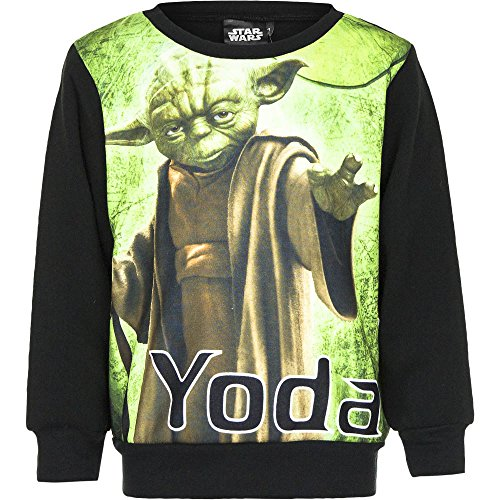 Star Wars Sweatshirt Jungen Pullover 104 / schwarz