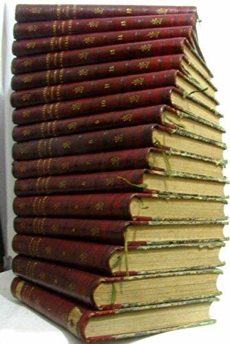 Histoire de France par J. Michelet -nouvelle édition revue et augmentée (tome 1 à 17, tome 16 manquant