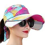 Protezione Solare Femminile Cappello Estivo Protezione UV Cappello Selvaggio Outdoor Bicicletta Visiera Gioventù Cappello da Sole Femmina Lente Telescopica ZHAOYONGLI