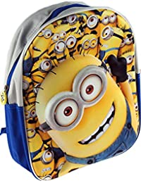 f9d58ab07721 Despicable Me Minions 3D effect Kids School Backpack Bag - Big Face