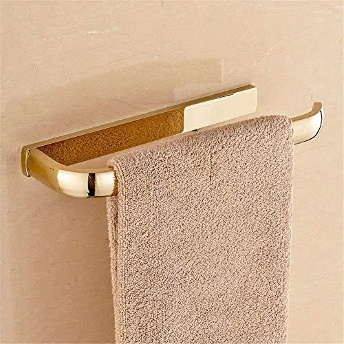 Willsego Kupfer Gold Bad Handtuchhalter Rack Mount Kit für Badezimmer, Handtuchring (Farbe : Towel Ring) -