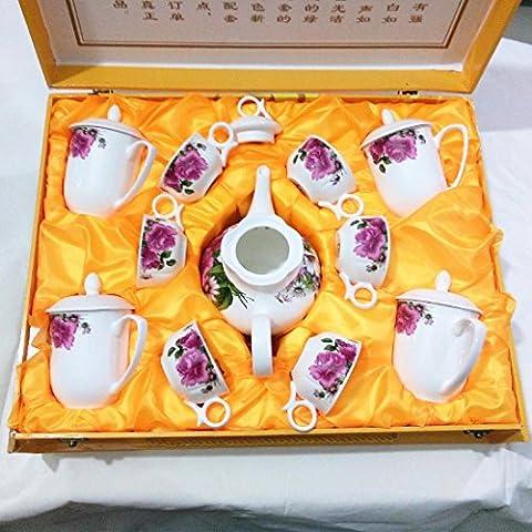 KHSKX Unione bone china set da tè