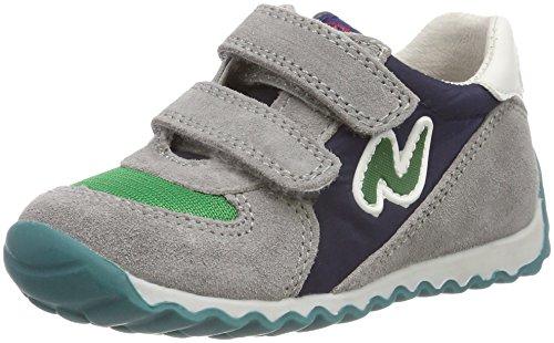 Naturino Jungen Deven. Sneaker, Mehrfarbig (Priombo-Verde-Navy), 27 EU