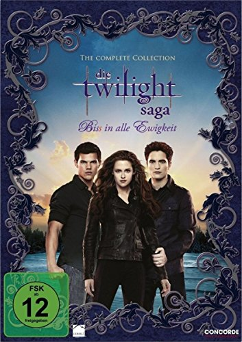 Twilight-Saga Complete Collection (Softbox) [11 DVDs] (Twilight Dvd Filme)