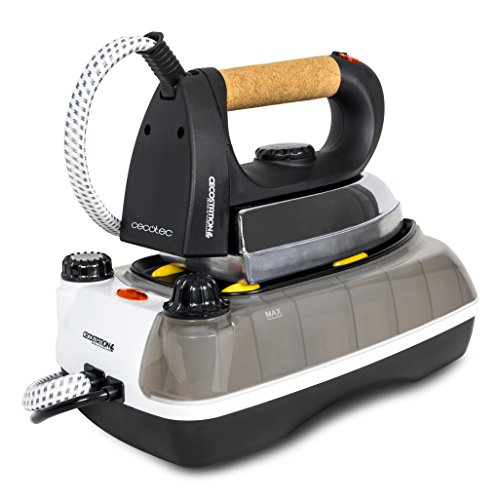 Cecotec Cecostation, ferro da stiro con caldaia esterna da 2600 watt e 0,8 litri