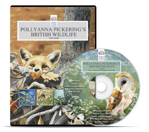 creative-world-of-crafts-polyanna-pickerings-british-wildlife-papercrafting-dvd-rom-multi-color
