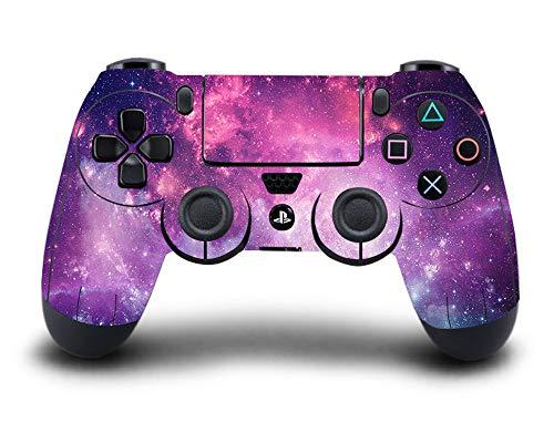 UUShop Vinyl-Aufkleber für Playstation4 PS4 Controller Purple Starry Galaxy (Galaxy Vinyl-aufkleber)