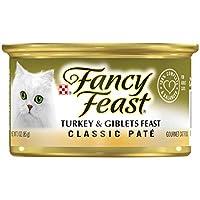 Purina Fancy Feast Classic Turkey & Giblets Wet Cat Food, 85 gm