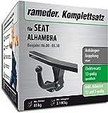 Rameder Komplettsatz, Anhängerkupplung starr + 13pol Elektrik für SEAT Alhambra (143195-01564-2)