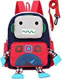 Sac A Dos Enfant Fille Robot Bambin Cartable Garderie PréScolaire Anti-Lost Sangle...