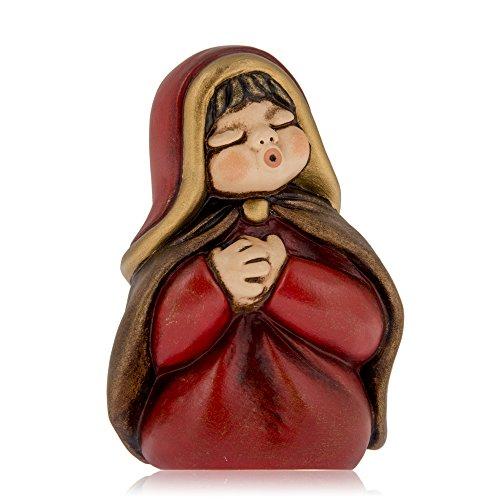 Thun maria presepe giubileo, ceramica, variopinto