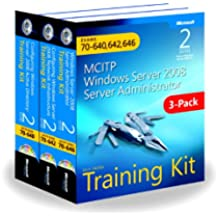 MCITP Windows Server 2008 Server Administrator: Training Kit 3-Pack: Exams 70-640, 70-642, 70-646, 2nd Edition Book/CD Package