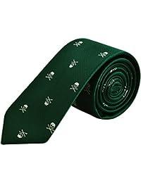 Enjoymore El cr¨¢neo del ancho de los hombres 6CM model¨® corbatas
