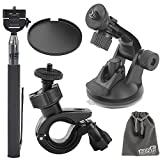 Best EEEKit Camera Monopods - EEEKit 5in1 Bike Car Mount Kit for Contour Review