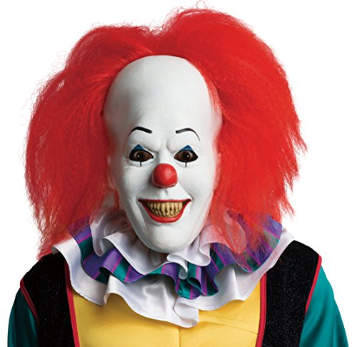 Rubie' s Costume ufficiale, Pennywise Deluxe maschera con capelli clown, it The Movie - Taglia unica, multicolore
