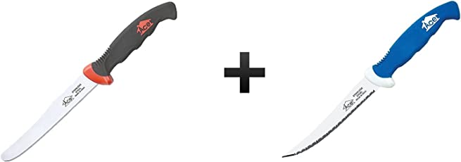 Knife Combo Pack - Ace Vegetable Knife + Ace Steak Knife (Colors may vary)
