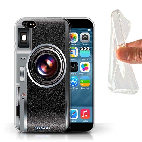 Stuff4 Gel TPU Hülle / Case für Apple iPhone 7 Plus / Weinlese Muster / Kamera Kollektion Weinlese