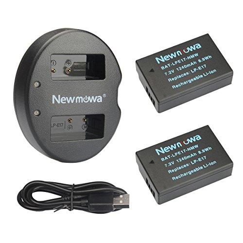 Newmowa LP-E17 Batería Repuesto 2-Pack