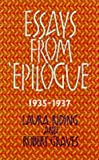 Essays from Epilogue, 1935-1937 (Lives & letters: the Millennium Graves) by Laura Riding (2001-08-30)