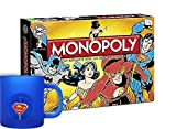 Monopoly: DC Originals + Superman Tasse 3D Rotating Logo [Edizione: Germania]