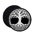 Copytec Patch Yggdrasil Weltenesche Weltenbaum 9 Welten Wikinger Aufnäher Klett #27394