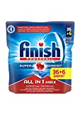 Finish All in 1 Max Pastiglie Lavastoviglie, Regular, 36+6 Tabs