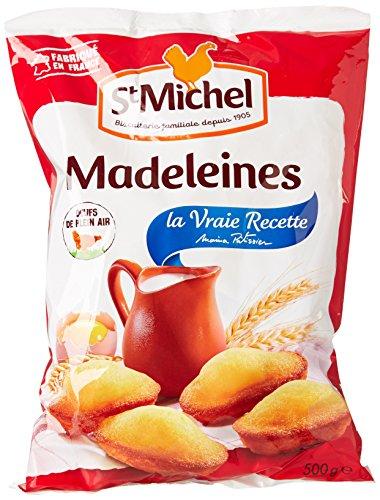 St Michel Madeleines la Vraie Recette 500 g - Lot de 6