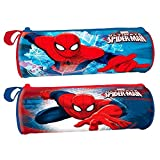 Les Colis Noirs LCN - Trousse Ronde en PVC Marvel Ultimate Spider-Man - Modèle Aléatoire - Spiderman Rentrée Fourniture Scolaire - 893