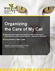 Organizing the Care of My Cat (WiseUp Workbooks) (English Edition)