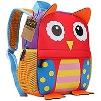 Children's Backpack, TEAMEN® Toddler Kids School Bag, Animal Design, Kinder Racksack for 2-5 Years Old