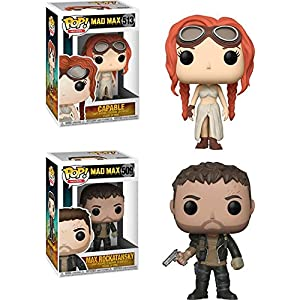 Funko POP Mad Max Fury Road Capable Max Stylized Movie Vinyl Figure Set NEW