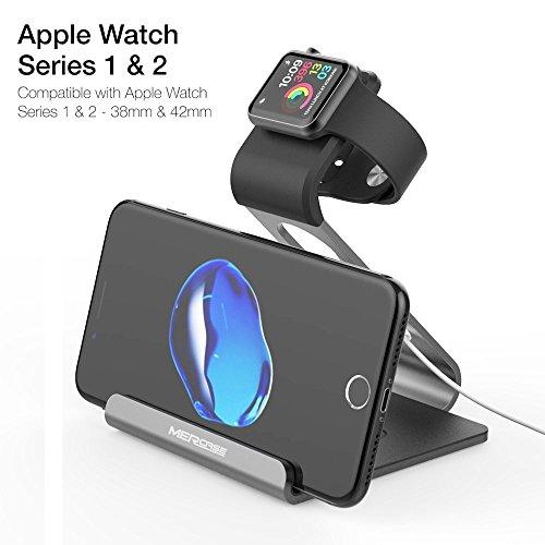 apple watch stand mercase iwatch st nder docking station. Black Bedroom Furniture Sets. Home Design Ideas