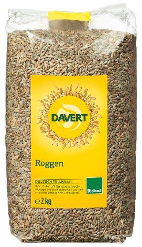 Davert Roggen, 4er Pack (4 x 2 kg)