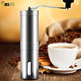 KITCHY Umiwe Portable Manual Coffee Bean Grinder Conical Coffee Maker 30g Coffee Powder Yield Stainless Steel Burr Hand Coffee Mill