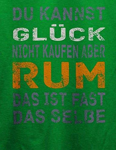 Du Kannst Glueck Nicht Kaufen Aber Rum T-Shirt Grün
