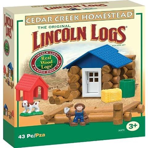 Lincoln Logs Cedar Creek Homestead by Lincoln Logs