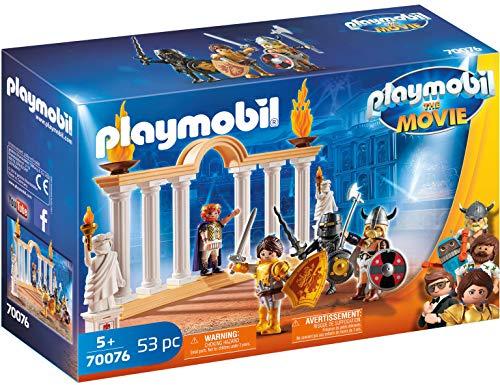 Playmobil- The Movie Emperador Maximus Coliseo Juguete