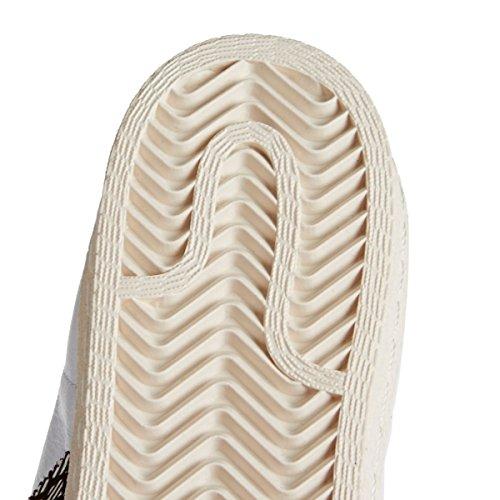 adidas Herren Superstar 80s Turnschuhe Blanc