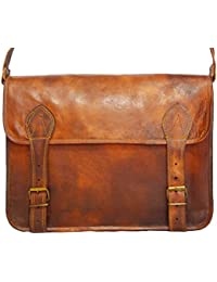 aded9ec5ef61 Digital Rajasthan Vintage Bags Leather Messenger Satchel Bag 11X15 inches